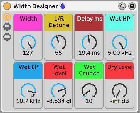 Width Designer